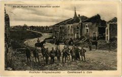 Condrecourt - Condrecourtbei Etain - Rue - Soldiers - Ruines - Étain