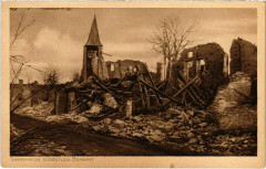 Samogneux Sudostlich Brabant - L'Eglise - Kirche - Ruines - Samogneux