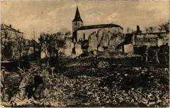 Moirey-Flabas-Crepion - Flabas - vor Verdun - Ruines - Moirey-Flabas-Crépion