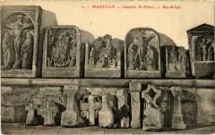 Marville - Chapelle Saint-Hilaire - Bas-Reliefs - Marville