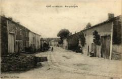 Pont-sur-Meuse Rue principale - Pont-sur-Meuse