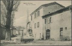 Place de la Mairie - Saint-Dizier-en-Diois