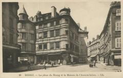 La Place du Bourg et la Maison de l'Annonciation - Rodez