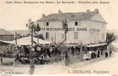 Café, Hôtel, Restaurant des Bains - La Bernarde - Vitrolles