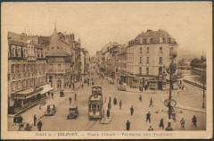 Place Corbis - Faubourg des Ancêtres - Belfort