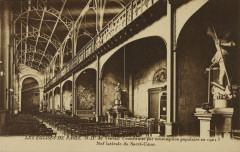 Notre-Dame du Travail - Nef latérale du Sacré-Coeur 75 Paris 14e