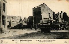 1914-15... Ippecourt (Meuse) aprés le bombardement - Ippécourt