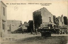 La Grande Guerre 1914-15 Ippécourt (Meuse), aprés le bombardement - Ippécourt