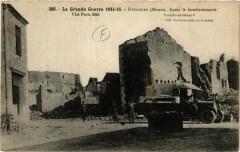 La Guerre 1914-15... Ippecourt (Meuse) Aprés le bombardement - Ippécourt