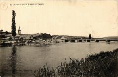 La Meuse á Pont-sur-Meuse - Pont-sur-Meuse