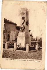 Saint-Germain-sur-Meuse - Monument aux Morts - Saint-Germain-sur-Meuse