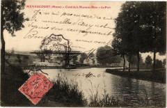 Menaucourt (Muse) - Canal de la Marne au Rhin -LePont - Menaucourt