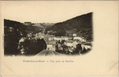 Plombieres-les-Bains Vue prise au Sud Est - Plombières-les-Bains