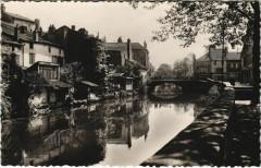 Rambervillers La Mortagne et le Pont du Faubourg - Rambervillers
