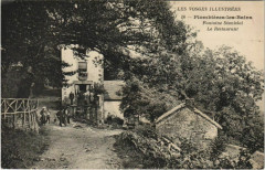 Les Vosges Illustrées Plombieres-les-Bains Fontaine Stanislal - Plombières-les-Bains