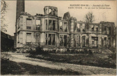 Guerre Raon-l'Etape Chateau Amos - Raon-l'Étape