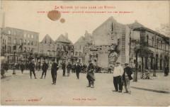 Guerre Raon-l'Etape Place des Halles - Raon-l'Étape