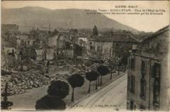 Les Vosges Raon-l'Etape Place de l'Hotel de Ville apré - Raon-l'Étape