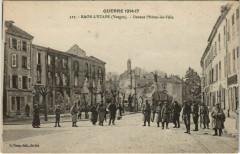 La Guerre 1914-17 Raon-l'Etape Devant l'Hotel de Ville - Raon-l'Étape