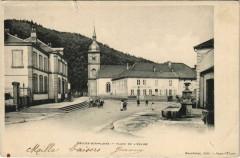 Celles-sur-Plaine Place de L'Eglise - Celles-sur-Plaine