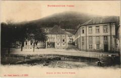 Moyenmoutier - Ecoles et rue Haute Pierre - Moyenmoutier