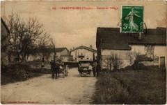 Grandvillers (Dep.88) Entrée du Village - Grandvillers