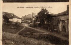 Chatenois - Haut Bourg - Croix de Saint-Marc (Xv siécle) - Châtenois