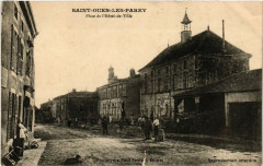 Saint-Ouen-les-Parey - Place de l'Hotel-de-Ville - Saint-Ouen-lès-Parey