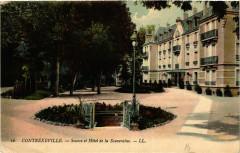 16 Contrexeville Source et Hotel de la Souveraine 88 Contrexéville