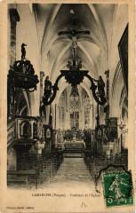 Lamarche Interieur de l'Eglise - Lamarche
