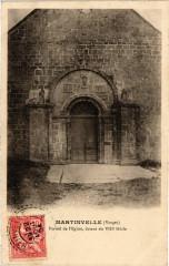 Martinvelle - Portail de l'Eglise - Martinvelle