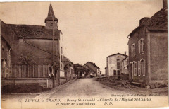 Liffol-le-Grand - Bourg Saint-Arnould - Chapelle de l'Hopital Saint-... - Liffol-le-Grand