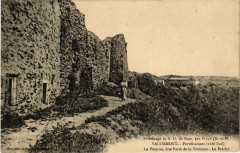Vaudemont - Vaudémont - Fortifications - Cote Sud - Vaudémont