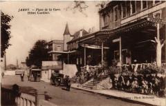 Jarny - Place de la Gare - Hotel Cordier - Jarny
