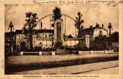 Champigneulles - Le Monument aux Morts de la Grande Guerre - Champigneulles