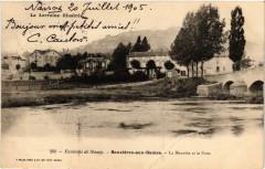 Bouxieres-aux-Dames - Environs de Nancy - La Meurthe et le Pont - Bouxières-aux-Dames