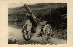 Compagnie Homecourt - Matériel - Saint-Chamond - Modele 1915 - Homécourt