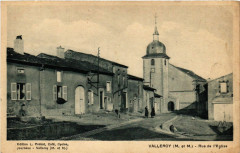 Valleroy - Rue de l'Eglise - Valleroy