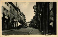 Sarrebourg - Saarburg i. L. - Adolf Hitlerstrasse - Sarrebourg