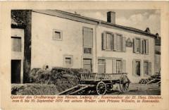 Quartier des Grossherzogs von Hesse Ludwig Iv. Kommander der - Hesse
