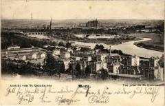 Ansicht vom Saint-Quentin aus Metz - Vue prise du Saint-Quentin 57 Metz