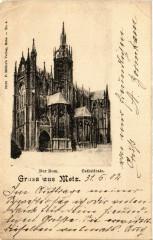 Der Dom. Gruss aus Metz 57 Metz