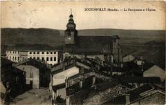 Bouzonville - Le Pensionnat et l'Eglise - Bouzonville