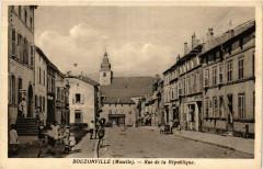 Bouzonville - Rue de la Republique - Bouzonville