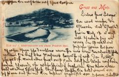 Blick auf Wadrineauwehr u. Veste Friedrich Karl Gruss aus Metz 57 Metz