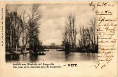 Ansicht vom Moselufer bei Longeville - Metz 57 Metz