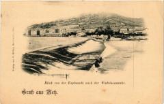 Blick von der Esplanade nach der Wadrineauwehr Gruss aus Metz 57 Metz