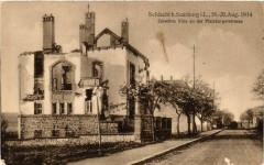 Sarrebourg Saarburg i. L. Zerstorte Villa Pfalzburgerstrasse - Sarrebourg
