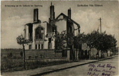 Sarrebourg - Saarburg i. L. - Zerschossene Villa Elisabeth - Sarrebourg