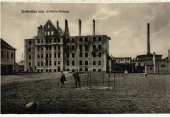 Sarrebourg Saarburg i. L. Zerschossene neue Artillerie-Kaserne - Sarrebourg